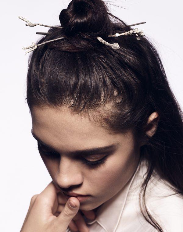 Black Hairpin