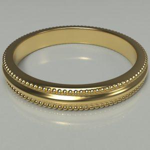Clover plain ring